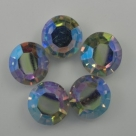 5 Stück - Crystal Rivoli 11x6 mm - Crystal AB