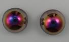 #01 - 1 Dome Bead 14x8mm - crystal santander