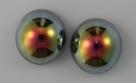 #03 - 1 Dome Bead 14x8mm - crystal marea