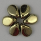 #01 - 50 Stck. PRECIOSA Pip Bead™ 5x7 mm jet amber full