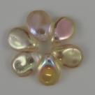 #13 - 50 Stck. PRECIOSA Pip Bead™ 5x7 mm crystal apricot AB