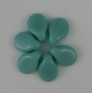 #24 - 50 Stck. PRECIOSA Pip Bead™ 5x7 mm opak turquoise