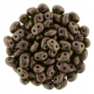 #97e 10g SuperDuo-Beads Polychrome - Copper Rose