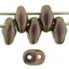 #97e 10g SuperDuo-Beads Polychrome - Copper Rose