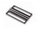 1 Gürtelschließe Metall black oxyd 33x55mm