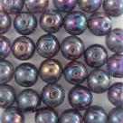 #27 25 Stück Perlen rund - Ø 8mm crystal vega iris