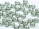#07 50 Stck. Wheel Beads Ø 6mm - chalk white labrador full