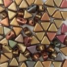 #03 - 50 Stück Kheops Beads 6mm - Crystal Gold Iris
