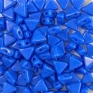 #23 - 50 Stück Kheops Beads 6mm - Opaque Sapphire
