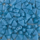 #24 - 50 Stück Kheops Beads 6mm - Opaque Blue Turquoise