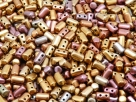 #41a 10g Rulla-Beads Crystal Ancient Gold