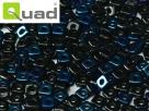 #01 5g Ouad® Beads jet azuro
