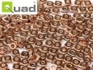 #03 5g Ouad® Beads jet capri gold full