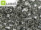 #04 5g Ouad® Beads jet capri chrome full