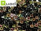 #05 5g Ouad® Beads jet vitrail