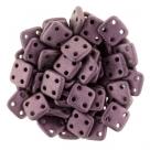 #08 10g QuadraTile-Beads 6mm - metallic suede - pink