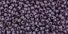 10 g TOHO Seed Beads 11/0 TR-11-Y507F - HYBRID Frosted Opaque Luster Lilac