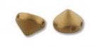 #07 20 Stück Tipp Beads Ø 8 mm - pastel colors antiqu. brass mat
