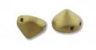 #08 20 Stück Tipp Beads Ø 8 mm - pastel colors olive gold matt