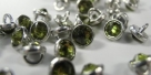 Crystaletts - olivine (silver)