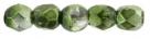 #19.01 50 Stück - 2,0 mm Glasschliffperlen - Mirror - Fern Green