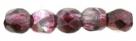 #08.02a 50 Stück - 2,0 mm Glasschliffperlen - Mirror - Purple