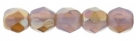 #04.02 50 Stück - 2,0 mm Glasschliffperlen - Milky Amethyst Celsian