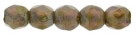 #04.03 50 Stück - 2,0 mm Glasschliffperlen - Milky Amethyst Picasso