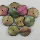 01.1 - 10 Stück Preciosa® Ripple™ (12mm) california medows matt