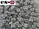 #27 50 Stck. Es-o Beads Ø 5mm - Metallic Silver