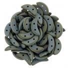 #01.00 5g Crescent-Beads 10x3 mm - Matte Iris Brown