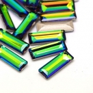 1 Glas-Baguette Ø 30x10x5 mm - crystal vitrail med