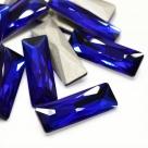 1 Glas-Baguette Ø 30x10x5 mm - cobalt