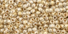 10 g TOHO Seed Beads 11/0 TR-11-0989 - Gold-Lined Crystal (E)