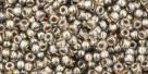 10 g TOHO Seed Beads 11/0 TR-11-0993 - Gold-Lined Black Diamond (E)