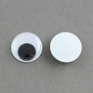 1 Paar Wackelaugen 8x3 mm - Plastik