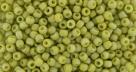 10 g TOHO Seed Beads 11/0 TR-11-2630 F - Semi Glazed Rainbow - Lemongrass (C)