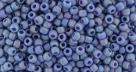10 g TOHO Seed Beads 11/0 TR-11-2636 F - Semi Glazed Rainbow - Soft Blue (C)