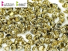 #03.00 50 Stck. Button Beads 4mm Crystal Full Amber