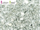 #04.00 50 Stck. Button Beads 4mm Crystal Full Labrador