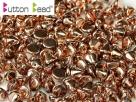 #05.00 50 Stck. Button Beads 4mm Crystal Full Capri Gold