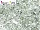 #04.01 50 Stck. Button Beads 4mm Crystal Labrador