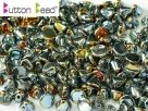 #07.00 50 Stck. Button Beads 4mm Crystal Full Marea