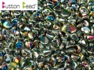 #08.00 50 Stck. Button Beads 4mm Crystal Full Vitrail