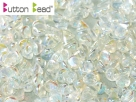 #01.02 50 Stck. Button Beads 4mm Crystal 2AB