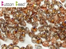 #10.00 50 Stck. Button Beads 4mm Crystal Sliperit