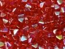 #21 40 Stück - Bicone 6,0 mm -  ruby AB
