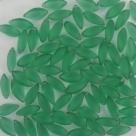 #23.01 - 10 Stück Twisty 15x8 mm - Peridot matt