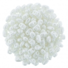 #02.02 - 10g MiniDuo-Beads  Opaque White Luster