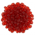 #05.00 - 10g MiniDuo-Beads  Tr. Siam Ruby